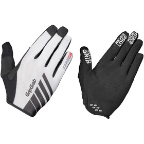 GripGrab Racing InsideGrip Full Finger Gloves White